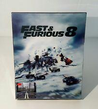 FAST & FURIOUS 8 Blu-ray STEELBOOK [HDZETA] LENTICULAR <REGION FREE> <#027/500>