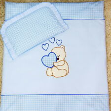 4pcs CRIB bedding Set /Duvet/Pillow/Duvet Cover/Pillowcase 100% COTTON