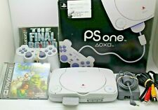 Sony Playstation Ps One Console Bundle Lot w 2 Games, 1 Controller Tested.