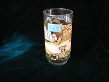 Vintage Star Wars Jedi Glass Tumbler ~ Collectible Star Wars Jedi handpainted