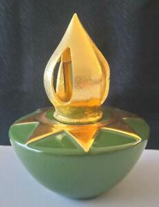 Lampe Berger Jars céramique verte étoile dorée MCB réf 5034