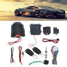 Car Vehicle Auto Burglar Alarm Protection Keyless Entry Security System + Remote