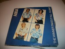 "ABBA- THE WINNER TAKES IT ALL VINYL 7"" 45RPM PS"
