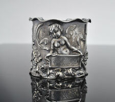 Victorian Silverplated Angel Napkin Ring