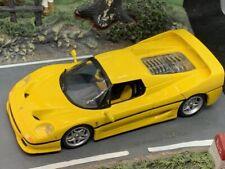 Ferrari f50 1995 berlinetta 1/43 Minichamps Jaune Yellow