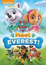 PAW PATROL : MEET EVEREST (Nickelodeon)  -  DVD - REGION 1 - sealed
