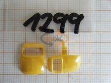 10x ALBEDO Ersatzteil Ladegut Tür BMW Isetta gelb 1:87 - 1299
