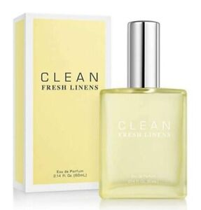 Treehousecollections: Clean Fresh Linen EDP Perfume Spray For Men and Women 60ml