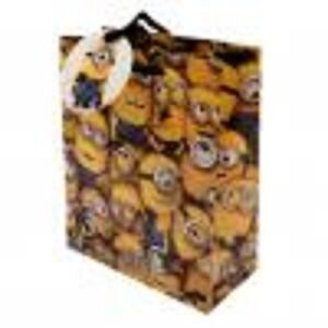Official Despicable Me Minion Gift Bag Small- New