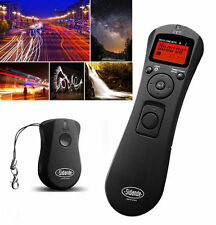 Wireless intervalometer Timer Remote for Canon 1300D 1200D 1100D 700D 650D 600D