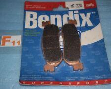 2 plaquettes de frein arrière BENDIX Yamaha YZF R1 R6 MAJESTY 250 SKYLINER X-MAX