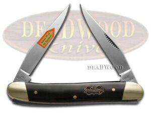 Steel Warrior Muskrat Knife Buffalo Horn Stainless Pocket Knives SW-122CBH