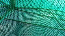 1M WIDE X 3M 50% SHADE NETTING / WIND BREAK GREEN GREENHOUSE NET SHADING