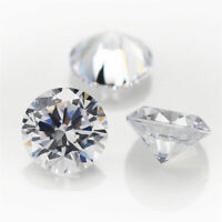Cubic Zirconia Wholesale Loose Stones Very Best Quality: 1-12 mm Round 12 Colors