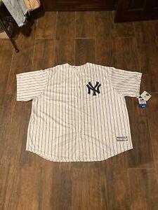 NWT Aaron Judge New York Yankees Majestic Cool Base Men's Jersey 4XL White
