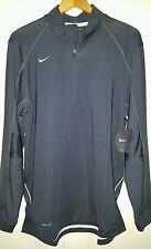 Nike Dri-Fit 1/2 Zip Long Sleeve Pullover BaseLayer: Medium (NWT) 361048-214