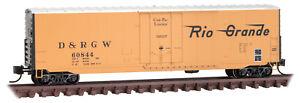 Micro-Trains MTL N-Scale 50ft Box Car Denver Rio Grande Western/DRGW #60844