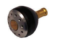 Votex 34mm Black/ Gold Reel Knob for Shimano - Stella, Sustain and Stradic