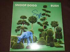 SNOOP DOGG SIGNED AUTOGRAPHED BUSH GREEN ALBUM VINYL LP (DR. DRE TUPAC) w/COA