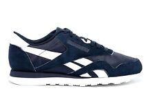 Reebok Classic Nylon PN Collegiate Navy White BS9804 Mens Trainers Sneakers