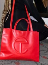telfar bag medium red 350
