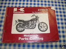BB 99910-1158-01 catalogo ricambi  KAWASAKI Z750-H  ediz. 1980