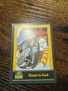 Lights of Broadway Hand to God Card Summer 2015 Rare