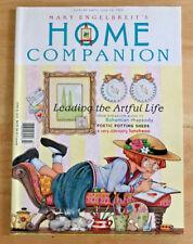 Mary Engelbreit's Home Companion 1999 Ann Estelle Paper Doll Majolica Hatpins