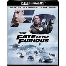 F8 The Fate of the Furious 4K UHD. No digital or BluRay