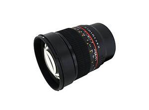 Samyang 85mm F1.4 Aspherical Lens for Fujifilm X Mount - SY85M-FX