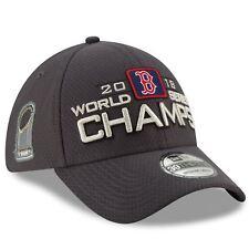 Boston Red Sox 2018 World Series Champions Hat Locker Room 39THIRTY Flex Fit