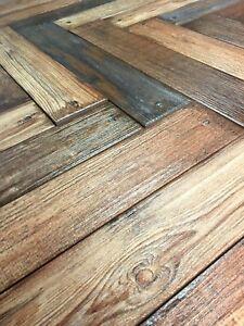 3.14 x 18 Antique Mix French Oak Porcelain Plank Field Tile Floor (BOX OF 10)