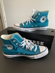 Converse All Star Hi Top Bright Spruce Green Size 6 Mens BNIB