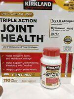 Kirkland Signature Triple Action Joint Health Cartilage Bone Support 110 Tablets