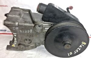 94 95 96 97 98 99 01 04 GM BLAZER S10 4.3 V6 POWER STEERING PUMP+BRACKET+PULLEY
