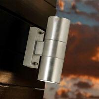 Außenwandlampe LED Außenwandleuchte LED Wandstrahler außen Up Down IP54 Stahl