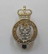 BRITISH ARMY CAP BADGE. THE QUEEN'S OWN MERCIAN YEOMANRY.