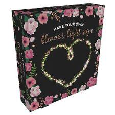 Make Your Own Flower Fairy Light Sign 3m Bright White LEDs