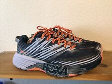 Women's Hoka One One Speedgoat 4 Blue Pink Size 9 Athletic Trail Running Shoes