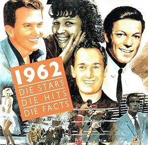 (CD) Die Stars Die Hits Die Facts 1962 - Little Eva, Tommy Roe, Pat Boone, u.a.