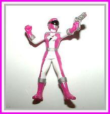 "PR Operation Overdrive _ Pink Ranger _ 3 1/2"" PVC Action Figure / Statue"