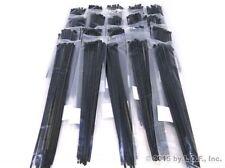 """500 Heavy Duty 14"""" Cable Zip Tie Down Strap Wire Nylon Wrap Black"""