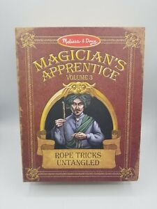 Melissa and Doug Magicians Apprentice Rope Tricks Vol. 3 New - Opened Box