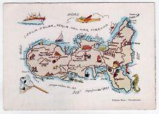 PORTOFERRAIO ELBA ITALY Italia PC Card RESTAURANT Isola d'Elba MAP Boni IT