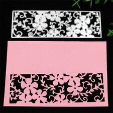 Flower Greeting Card Metal Cutting Dies Stencil Scrapbooking Embossing Craft DIY