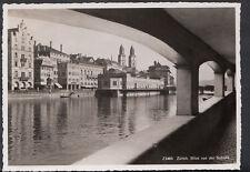 Switzerland Postcard - Zurich - Blick Von Der Schipfe   B2244