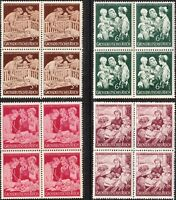 SALE Stamp Germany Mi 869-72 Sc B253-6 Block 1944 WWII Welfare Organization MNH
