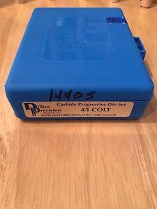 Dillon Precision 45 Colt (Long Colt) Carbide Die Set #14405