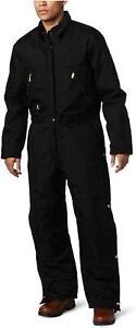 Carhartt Men's Arctic Quilt Lined Yukon Coveralls,Black,42, Black, Size 42 Tall