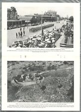 1935 RHODESIA magazine article, history natives, etc Africa, biased US viewpoint